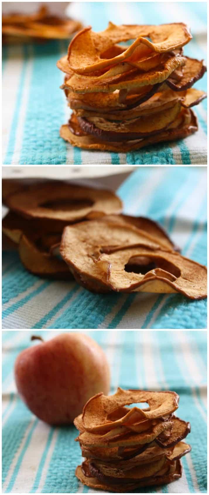 Warm Cinnamon Apple Chips