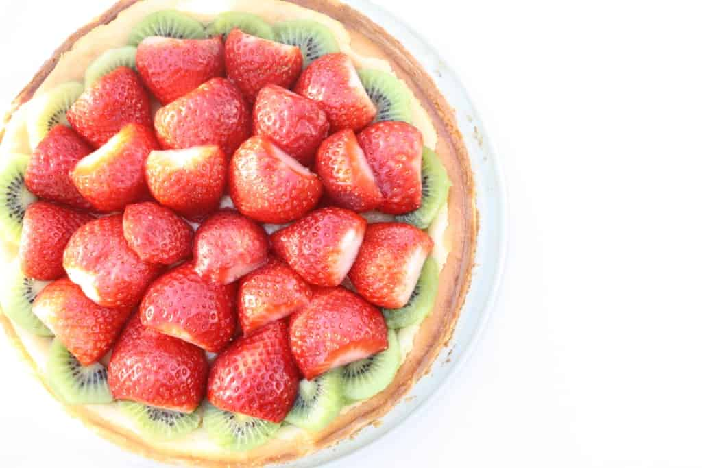 Strawberry Kiwi Cheesecake
