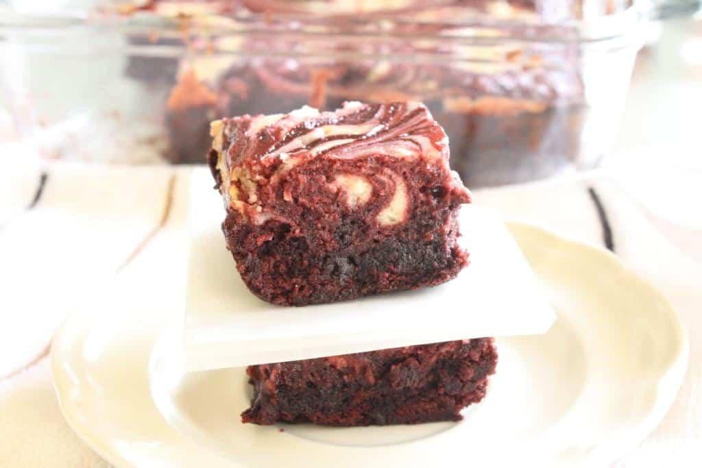 Red Velvet Cheesecake Brownies
