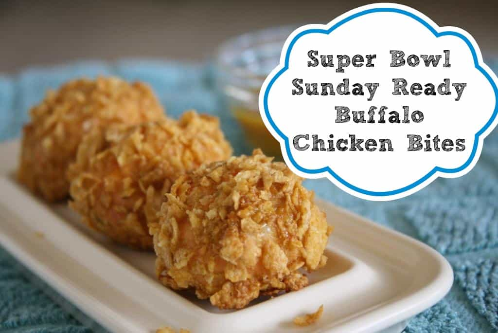 Super Bowl Sunday Ready Buffalo Chicken Bites