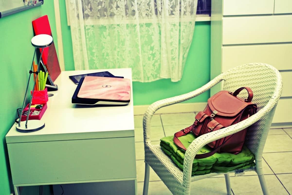 Jessiker Bakes' desk.