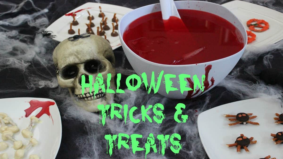 DIY Halloween Treats & Snacks