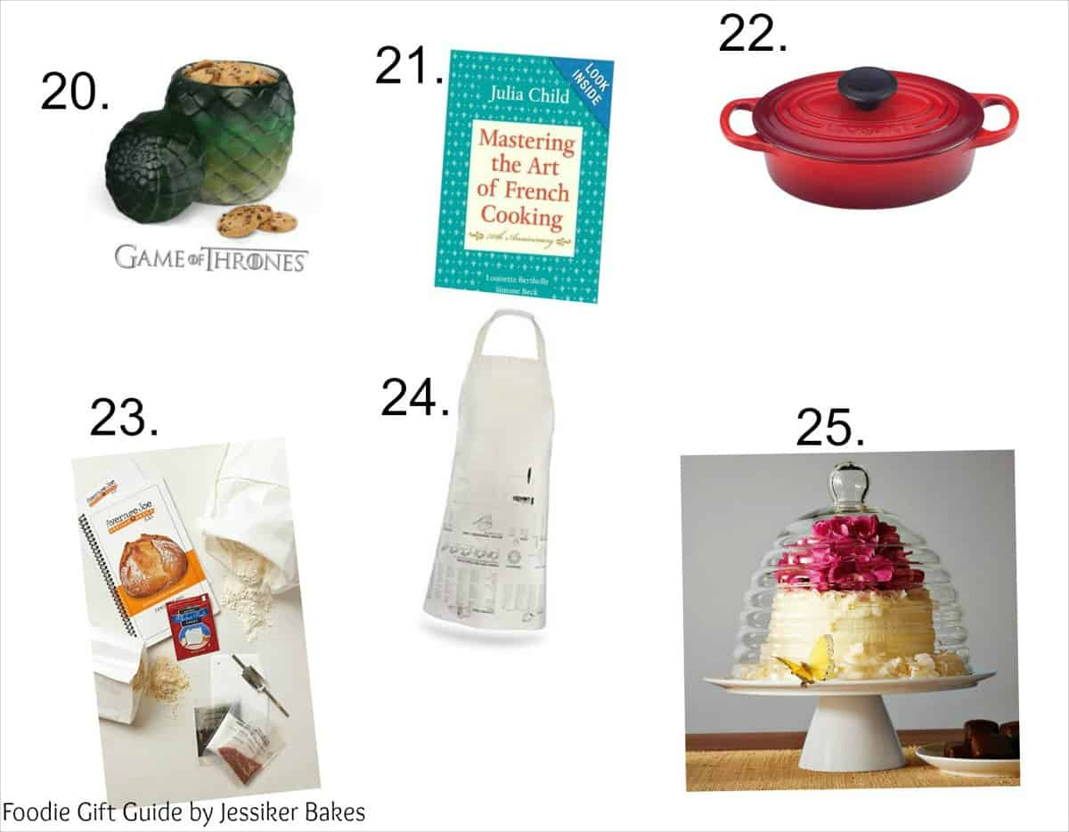 Foodie Gift Guide - 25 Gifts for Bakers & Cooks