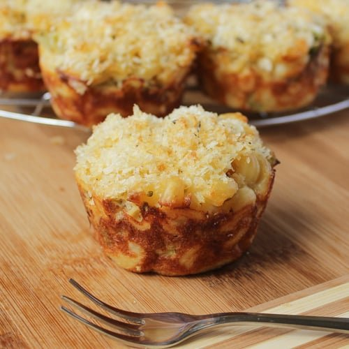 3-Cheese Mac and Cheese Cups
