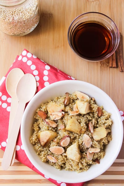 Cinnamon Apple Maple Quinoa