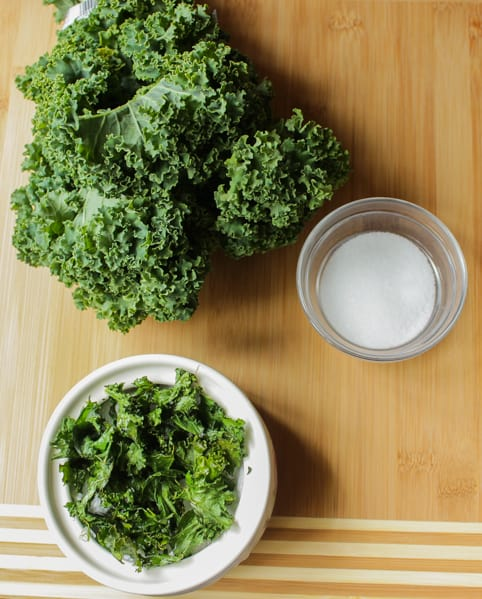 Three Ways To Make Kale Chips - Salty, Spicy and Cheesy
