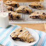 Healthier Lemon Blueberry Scones