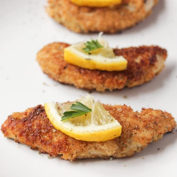 Italian Lemon Chicken  Recipe