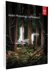 Adobe Lightroom 5 box.