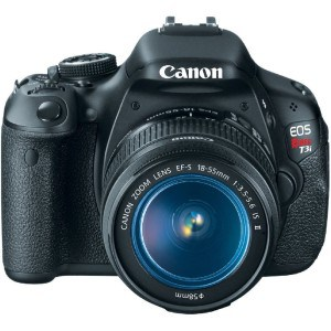 Canon T3i Camera for Food Photography