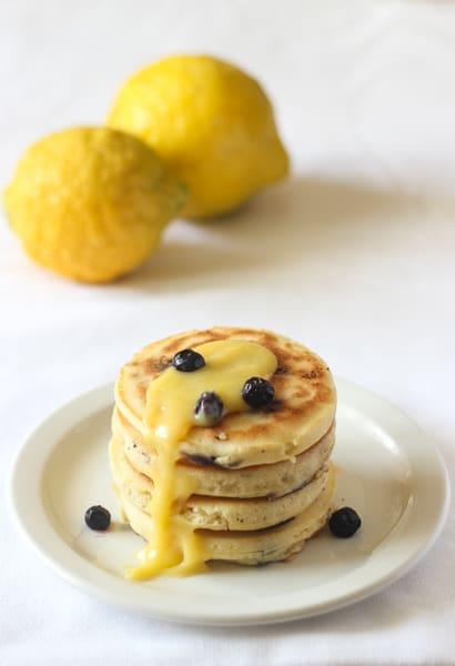 Blueberry Lemon Pancakes