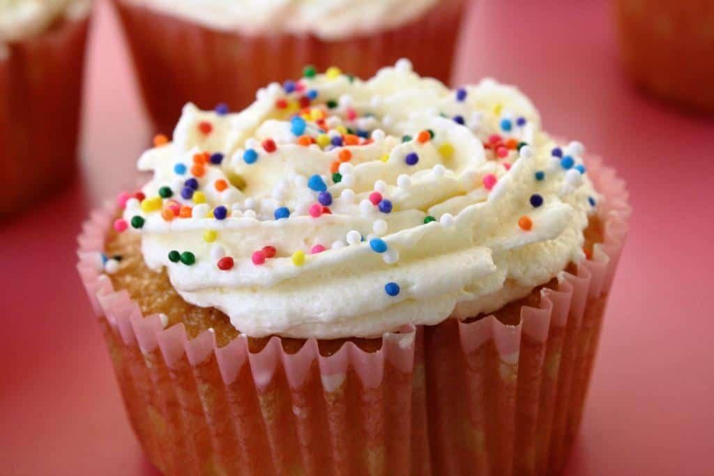 Vanilla Caramel Cupcakes