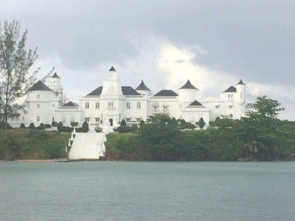 Castle in Portland, Jamaica.