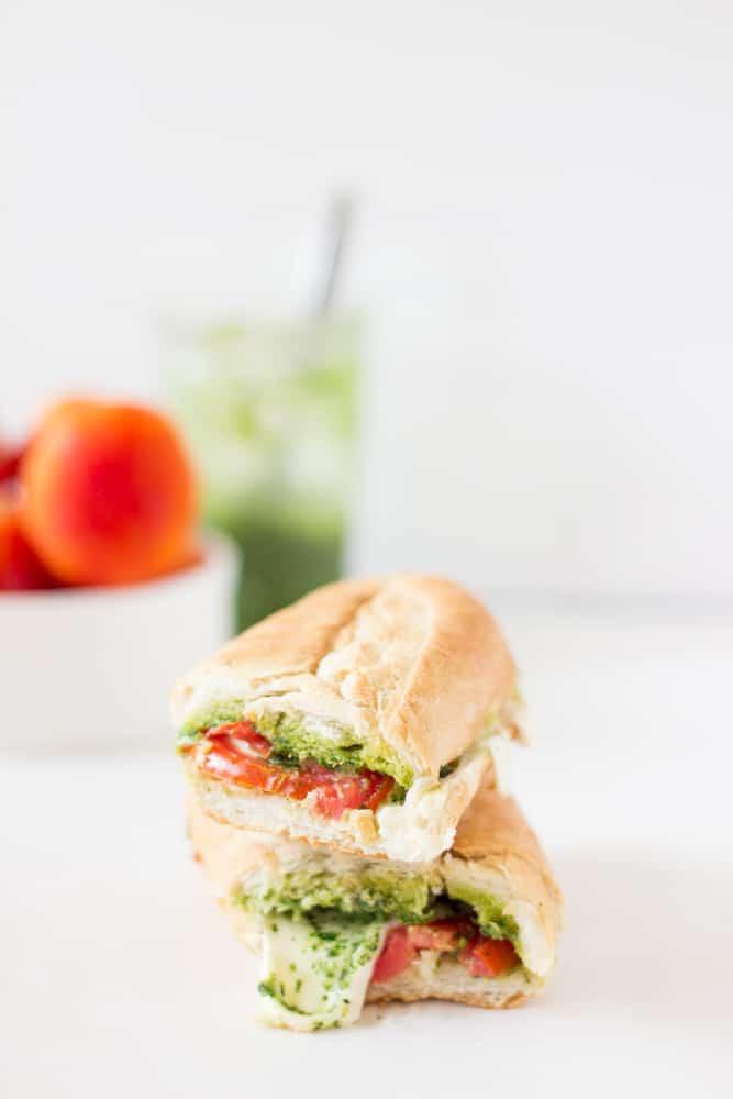 Caprese Sandwich with Parsley Pesto-2