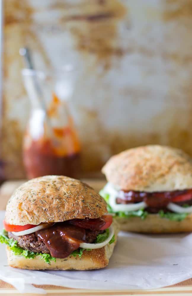 Black Bean and Quinoa Burgers-3