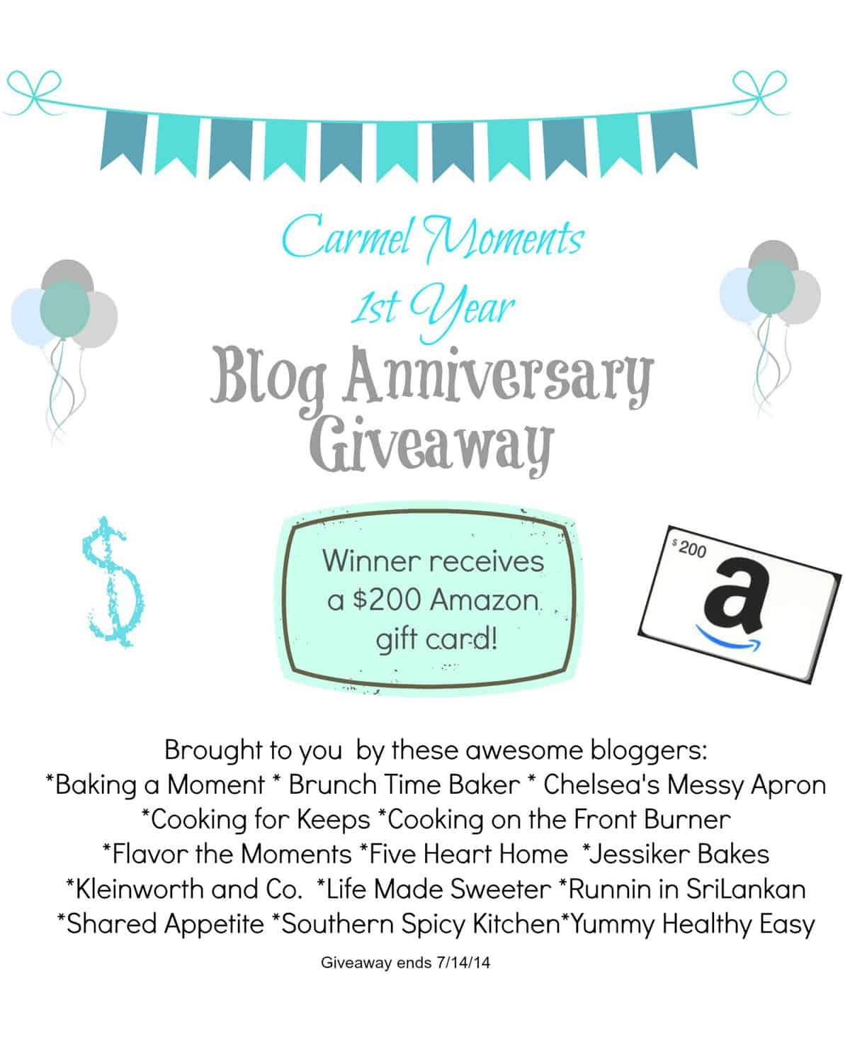 Carmel Moments Blog  Anniversary Giveaway 3
