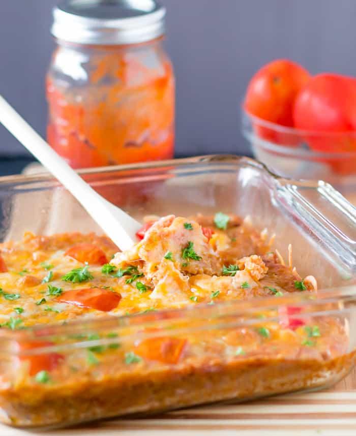 Cheesy Quinoa Casserole-2