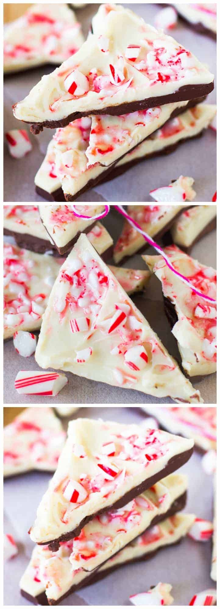 This White Chocolate Peppermint Bark is so easy to make it's barely a recipe. It's a MUST for Christmas!