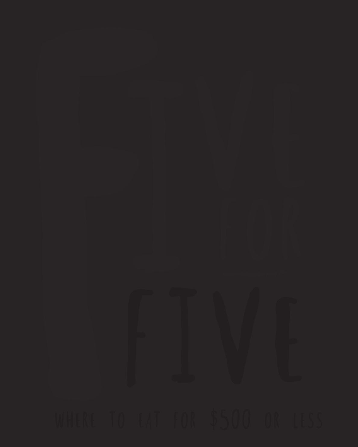 5for 5 logo