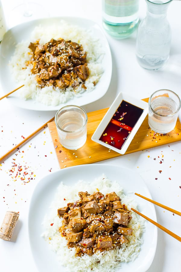 This Teriyaki Tofu is a quick, incredibly flavourful, make ahead dish! It's WAY better than takeout and perfect for weeknight dinners.