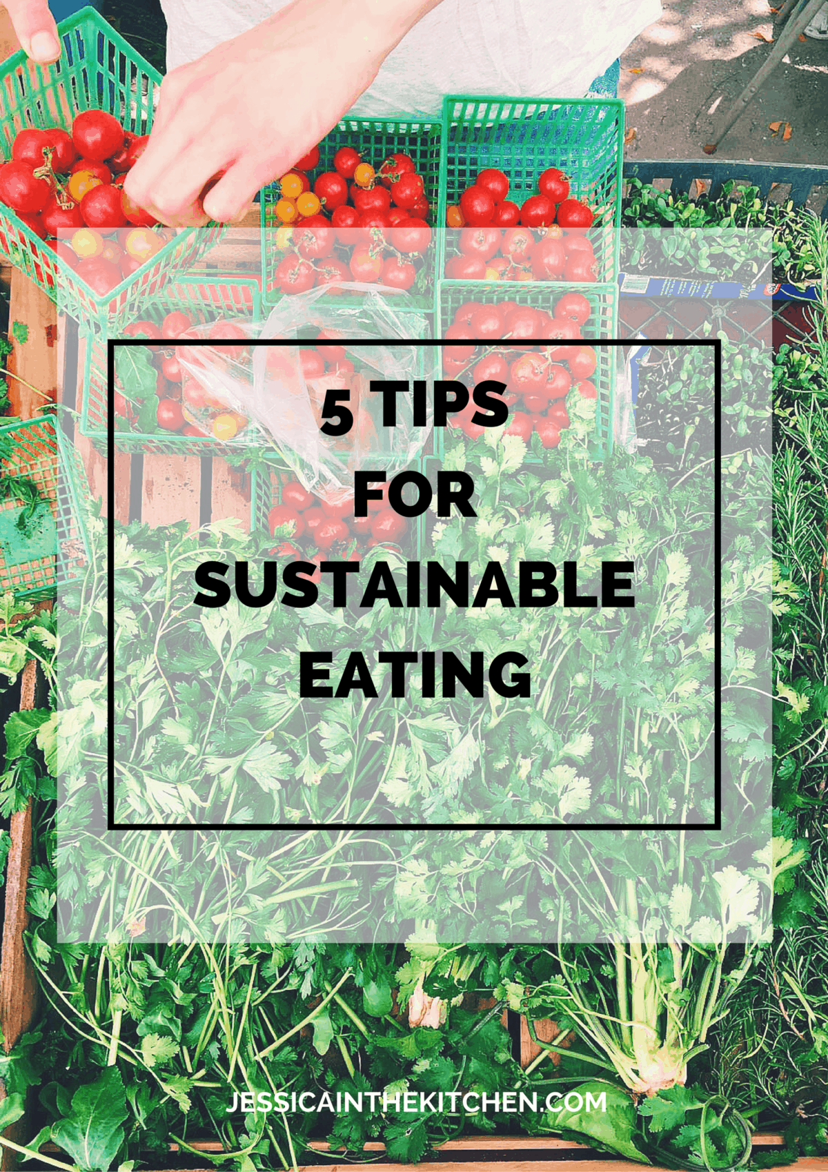 If you've ever thought about eating more sustainable, or want to learn what that even is, read on my favourite 5 tips for Sustainable Eating.