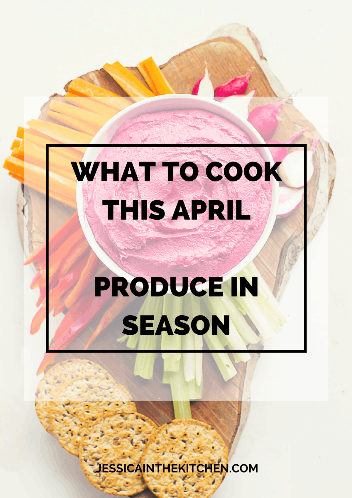 Title card fir what to cook this april.