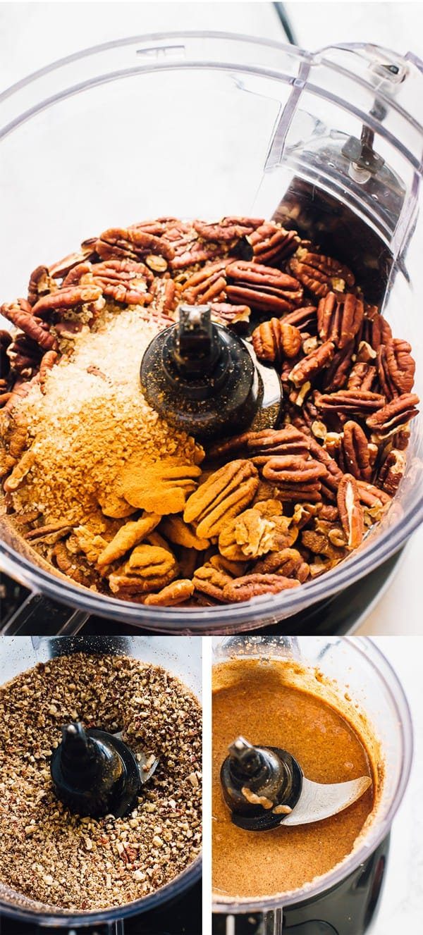 Put this Homemade Easy Pecan Butter on EVERYTHING. It takes only 10 minutes and 4 ingredients from prep to finish and is made with all natural ingredients! via https://jessicainthekitchen.com