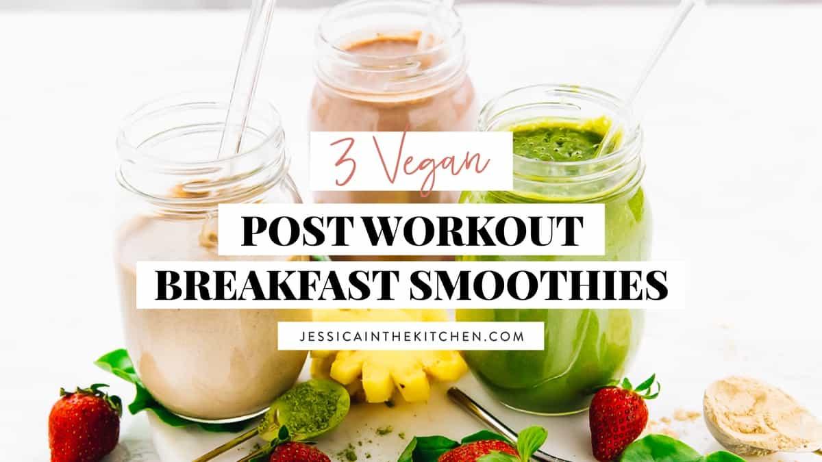 7 Quick & Easy Vegan Banana Smoothies