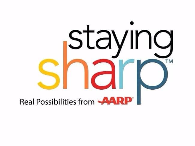 Logo for aarp.