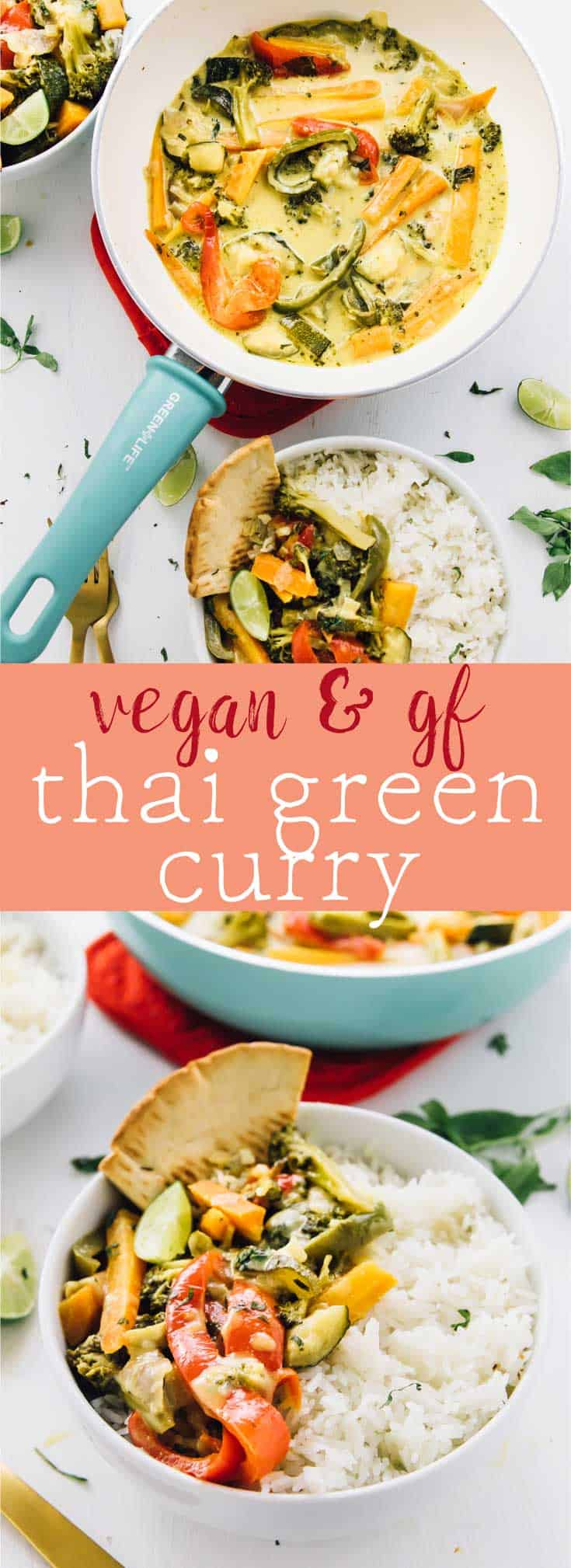 This Thai Green Curry takes only 30 minutes! All it takes is one pot, it's loaded with rich flavours, and is bound to be a crowd pleaser! via https://jessicainthekitchen.com