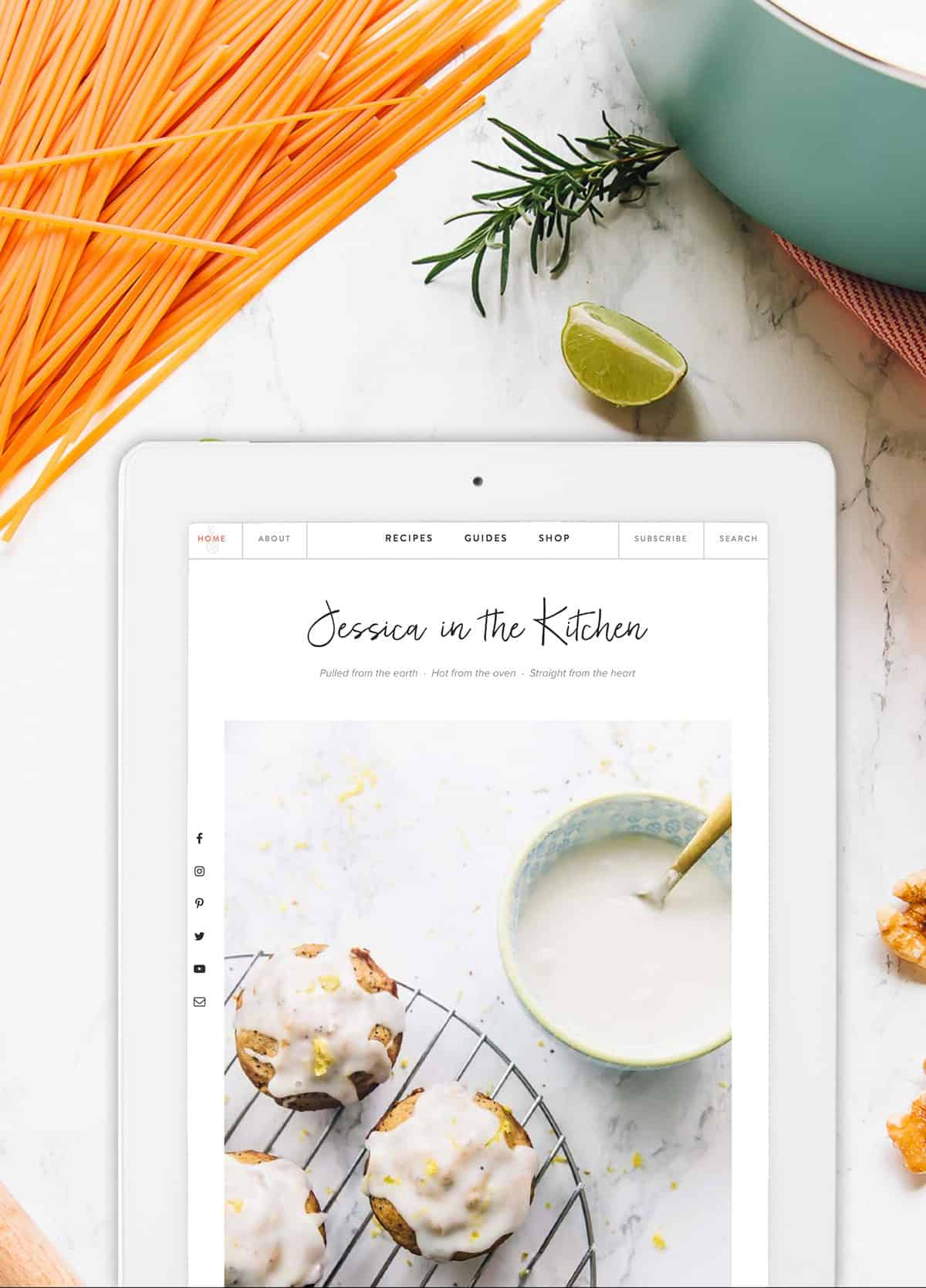 Welcome to the New Jessica in the Kitchen!! + 3rd Website ...