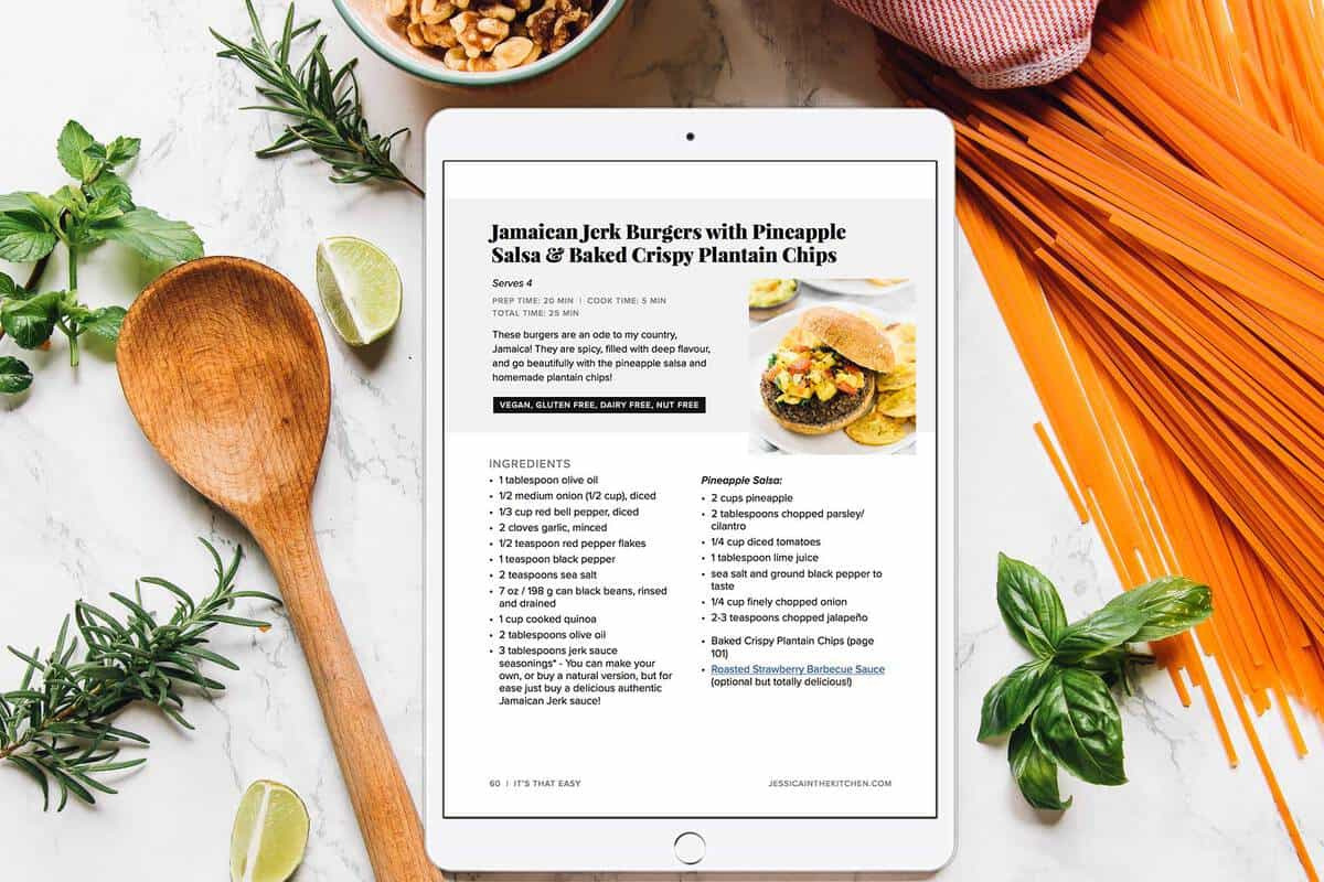 It's That Easy is your step-by-step guide for switching to a healthier, meatless lifestyle you'll love. This is the 147-page guide I wish I had when I first went meatless.