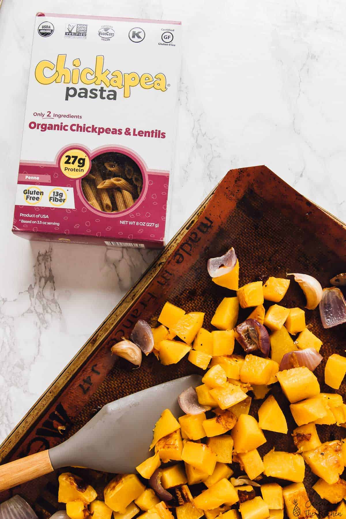 This Butternut Squash Pasta Bake (GF)| Jessica in the Kitchen