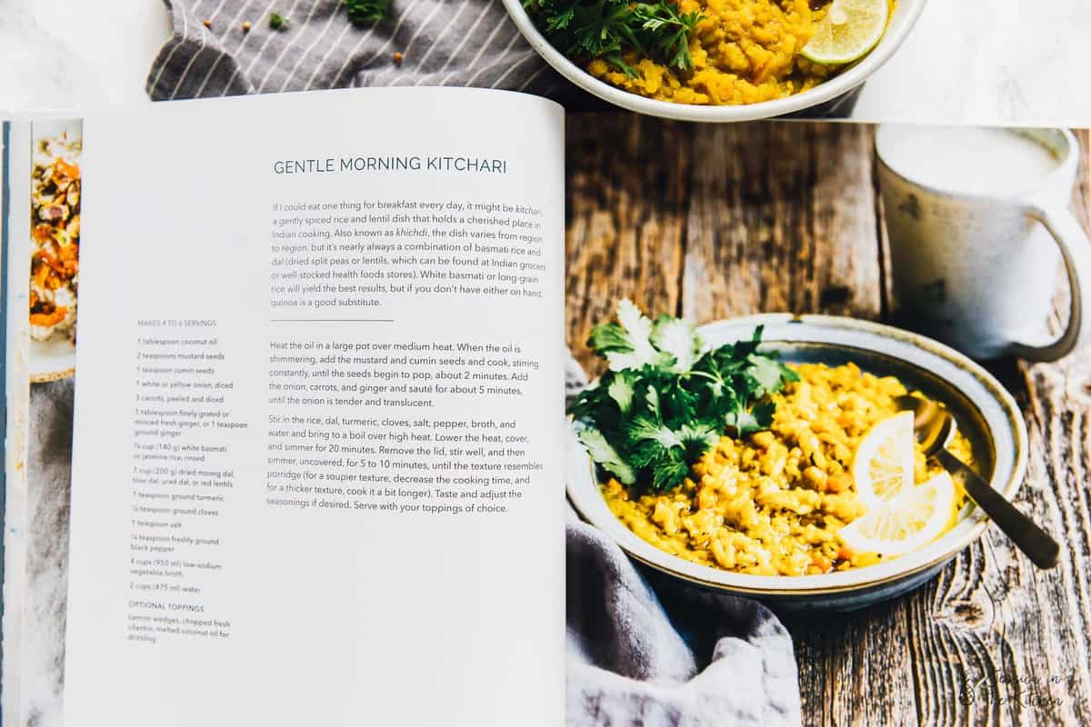 This Gentle Morning Kitchari is loaded with protein to help start your day off right! It's flavourful, warming, comforting and so easy to make in one pot! via https://jessicainthekitchen.com