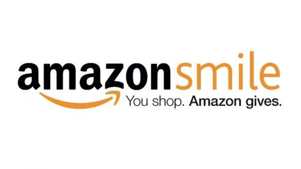 Logo for amazon smile.