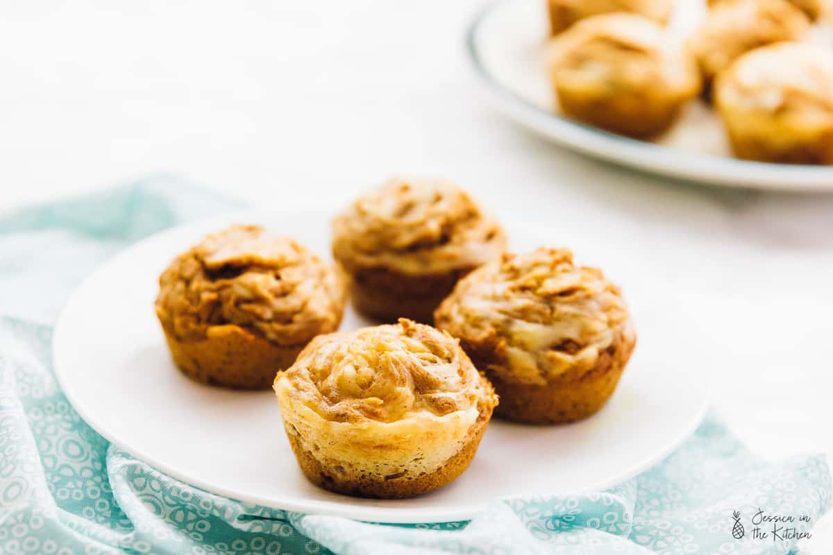 ThesePumpkin Cream Cheese Swirl Muffins will amaze your tastebuds and your guests!! They taste fantastic, are gluten free and are so easy to make! Best part - they're made with ingredients that are all from @Walmart! #sponsored via https://jessicainthekitchen.com