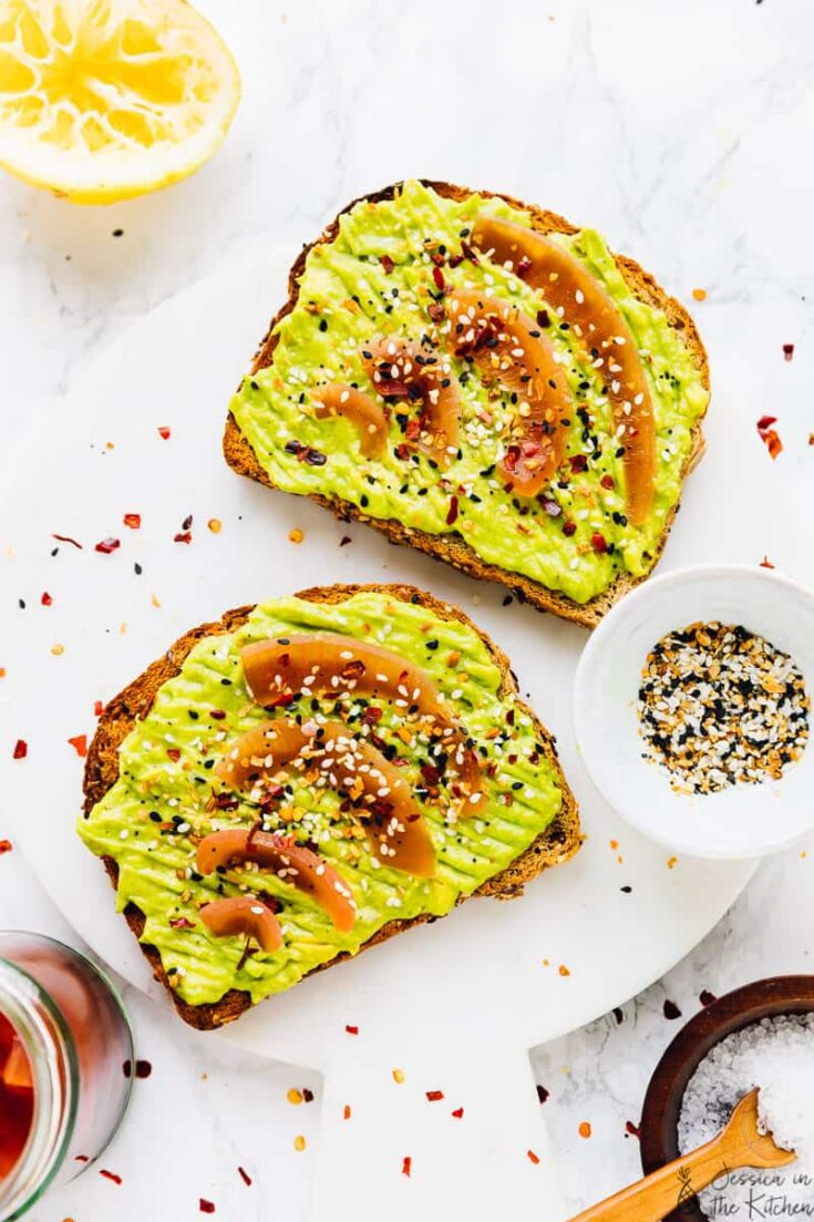 Avocado Toast Recipe (with Pickled Onions) (Vegan + Best Tips)
