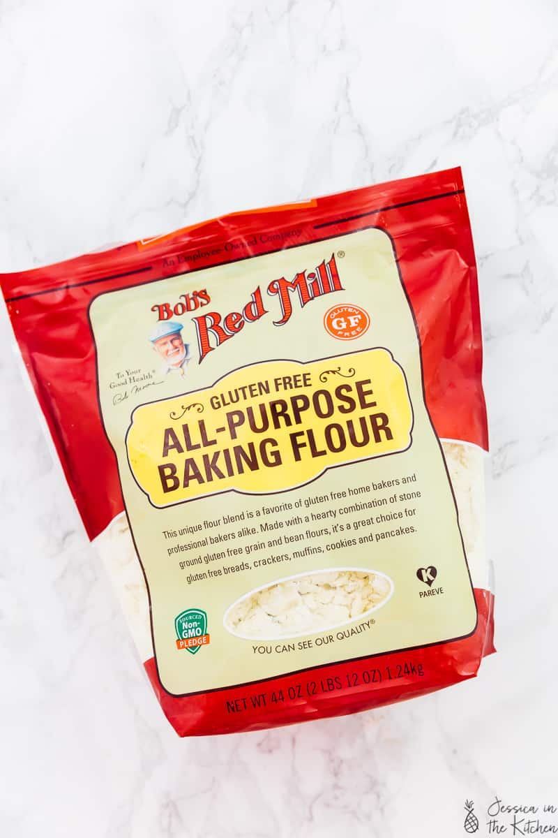 A pack of all purpose baking flour.