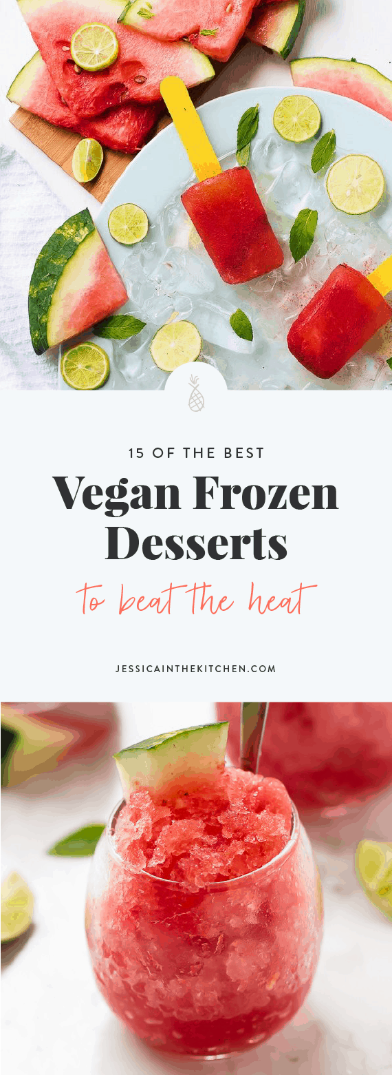 best vegan frozen desserts