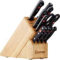 WÜSTHOF Gourmet Twelve Piece Block Set | 12-Piece German Knife Set