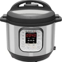 Instant Pot IP-DUO60 321 Electric Pressure Cooker, 6-QT