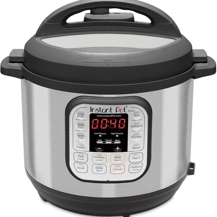 Instant Pot IP-DUO60 321 Electric Pressure Cooker, 6-QT