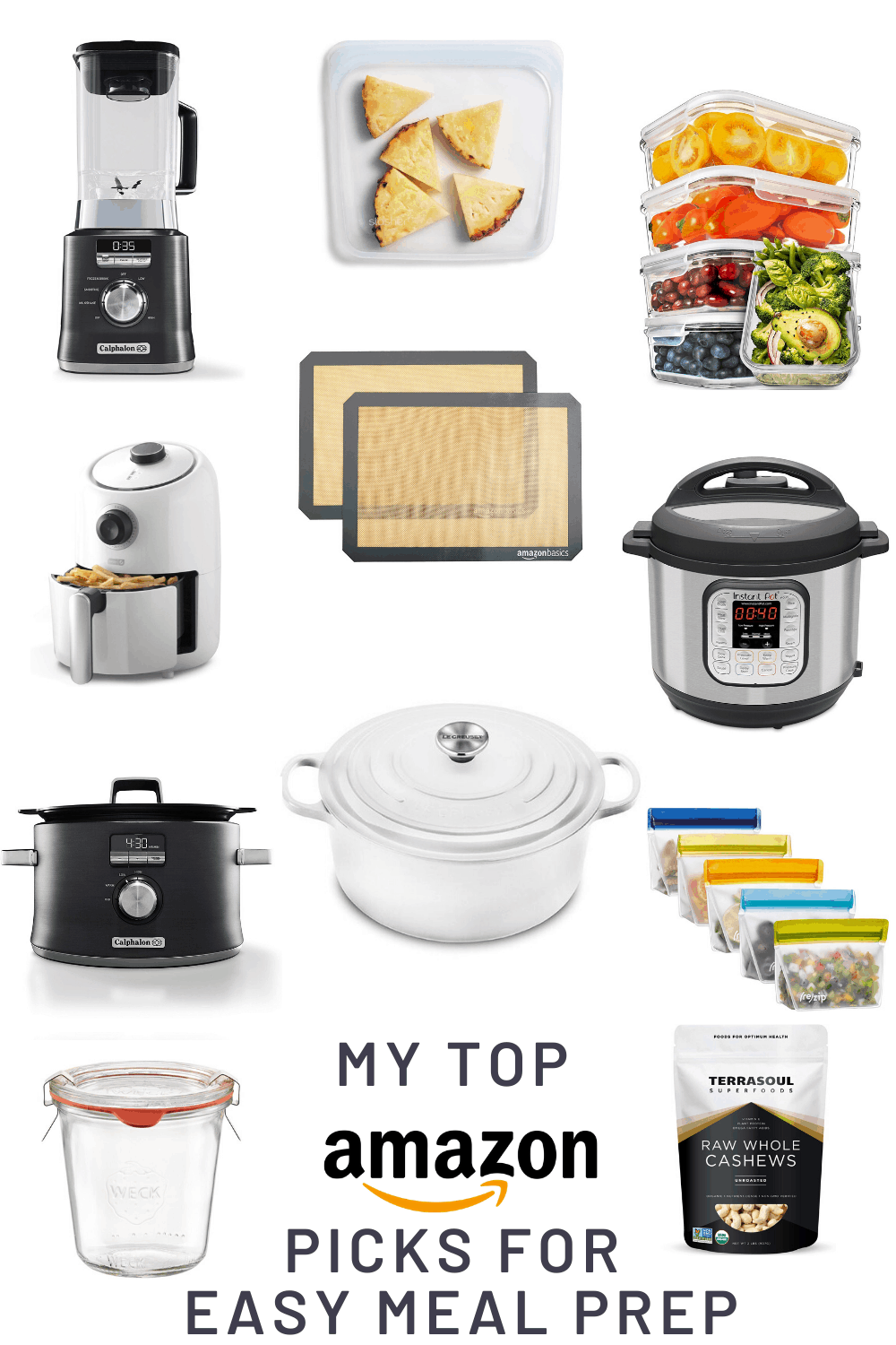 My Top 25 Amazon Purchases for Easy Meal Prep
