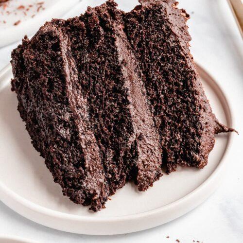 Vegan Chocolate Cake Recipe Jessica In The Kitchen