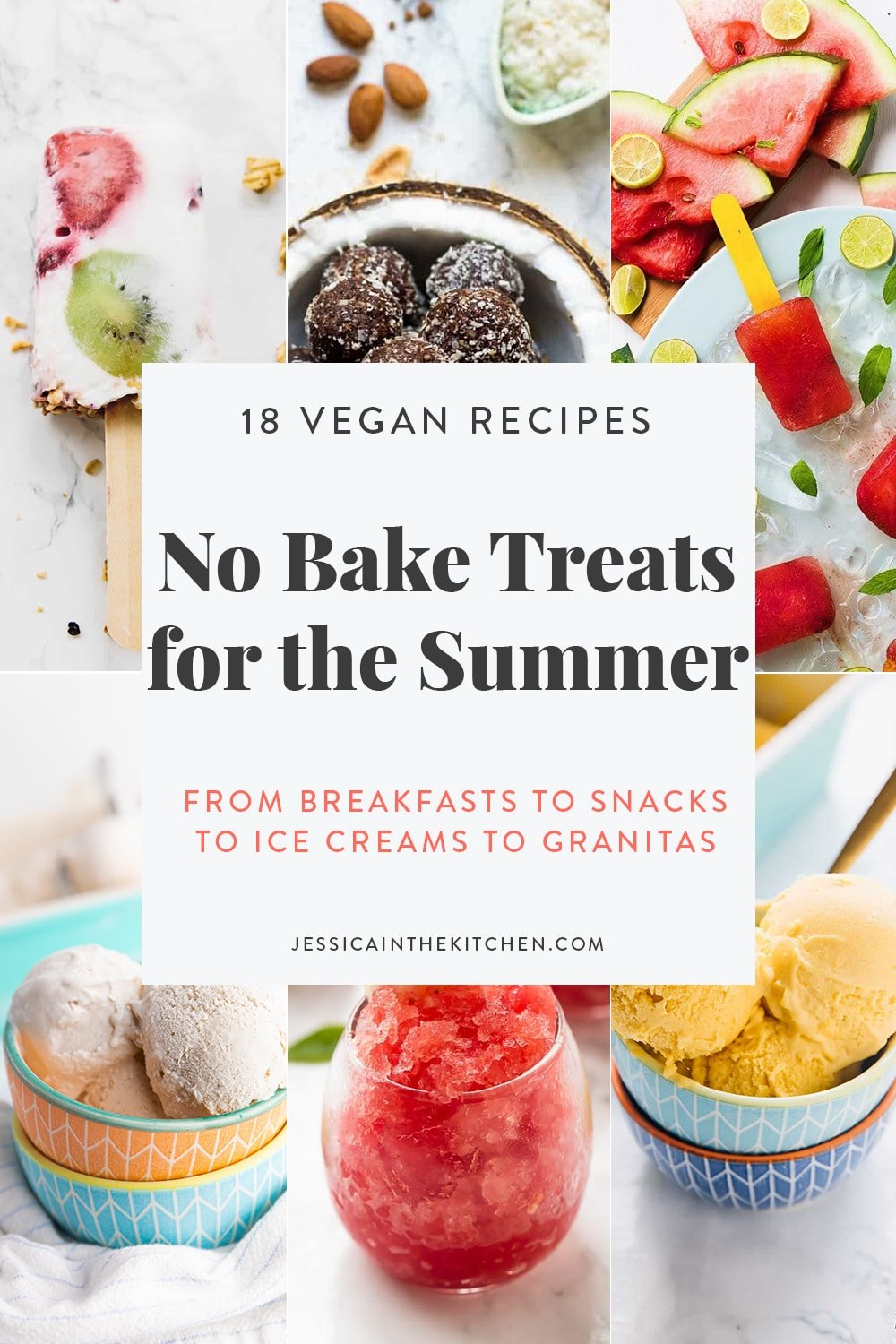 roundup of no bake treats images